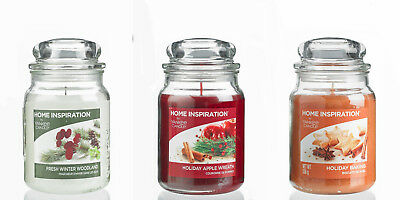 YANKEE CANDLE HOME INSPIRATION SCENTED CANDLE *Choose Scent & Size* - G3