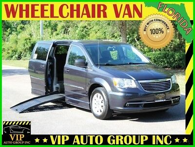 Chrysler Town & Country Touring 2014 Chrysler Handicap Wheelchair Van Mobility Power Side Ramp Tranf Seat