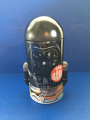 "Disney Star Wars Darth Vader Money Piggy Bank (Approx 7""H)"