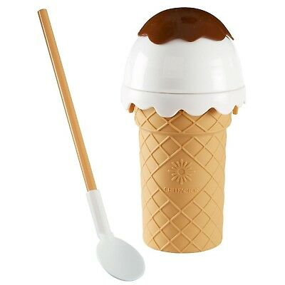 Chill Factor Ice Cream Yoghurt Sorbet Maker Kids Squeeze Crafts And Treats Brown