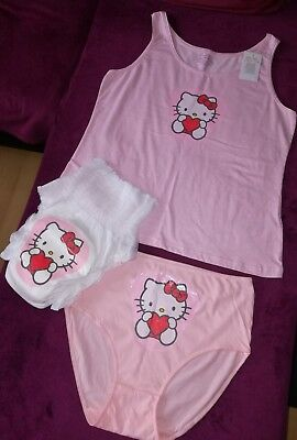 Adult Baby SET HALLO KITTY Windel WINDELHOSE Baumwolle Diaper Höschen Top XL