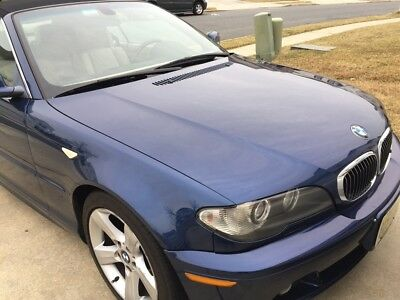 2004 BMW 3-Series 325ci with sport package 2004 BMW 325ci convertible