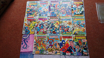 Invaders Bronze Age Lot Of 14-35 34 15 7 6 3 22 24 25 26 30 28 29 27