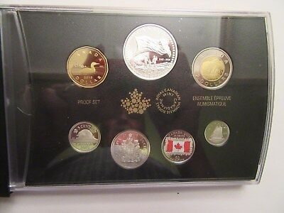 2015 Canada Silver Proof set, 50th anniversary Canada National Flag