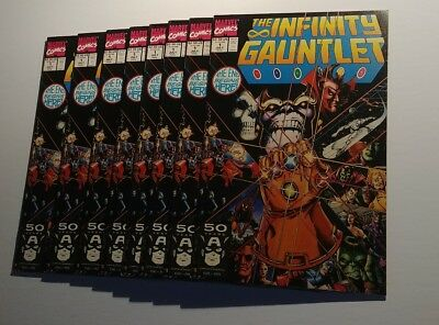 Infinity Gauntlet #1 NM+ or better Thanos Cover UNCIRCULATED COPIES !!
