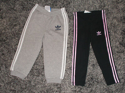 Brand new Girls Adidas tracksuit bottoms & leggings size Age 2 - 3 years