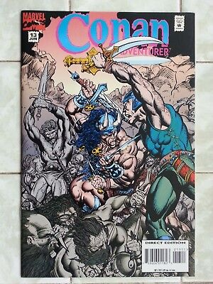 Conan the Adventurer # 13 Rafael Kayanan art - ( Conan the Barbarian )