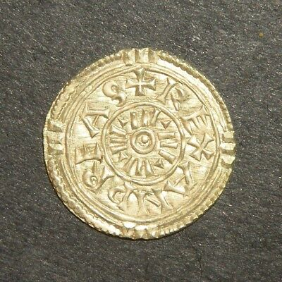 Crusader Cross UNC Coin Silver 1000's AD Medieval Antique Ancient Viking Era +