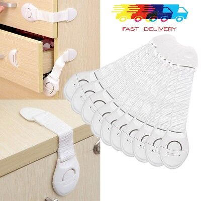 Child Baby Toddler Pet Cupboard Cabinet Safety Locks Proofing Door Drawer