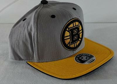 low priced 8ea30 aafb8 LZ Reebok Adult One Size OSFA Boston Bruins Hockey NHL Baseball Cap Hat NEW  B68