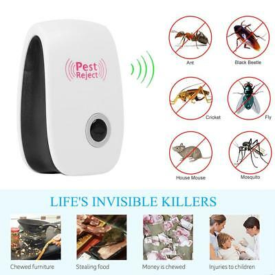 Electronic Magnetic Repeller Ultrasonic Pest Reject Anti Mosquito Insect Killer