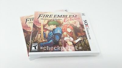 Fire Emblem Echoes Shadows of Valentia (Nintendo 3DS) NEW FACTORY SEALED