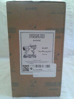 Peanuts by Jim Shore Snoopy with Woodstock in Nest Warming Gift NEW IN BOX