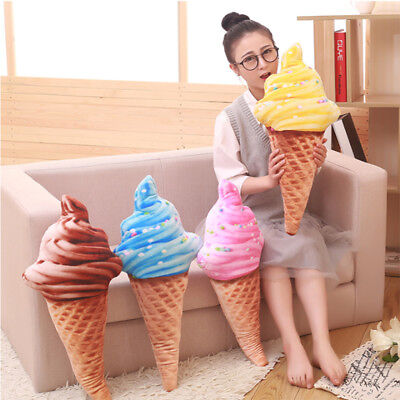 Office Gifts Waist Pillow Ice Cream Pillow Sweet Ice Cream Cushion