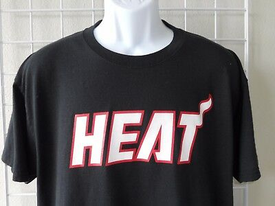 a216fbe8c MIAMI HEAT  6 Lebron James Red T-Shirt from Majestic Size XL Painted ...