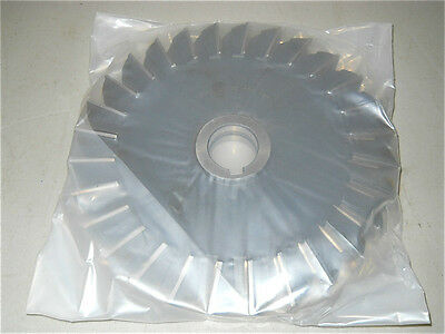 "Interstate 10""x 1""x 1-1/2"" HSS 28 Teeth Straight Side Milling Cutter 03019643"