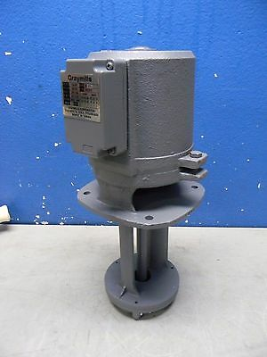 Graymills Cast Iron Immersion Replacement Coolant Pump 230/460V 1/4HP 3PH IMV25F