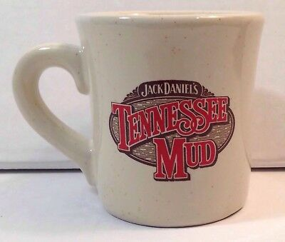 Jack Daniels Tennessee Mud Red Brown Coffee Mug Collectible Bar Party Relaxation