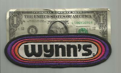 Vintage Wynns Racing Team Patch Hot Rod Patch 6 Inches Old Twill Nice!!!