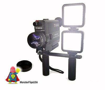CANON 310XL super 8 camera FULLY FUNCTIONING With Light Rig and Dual Light Box