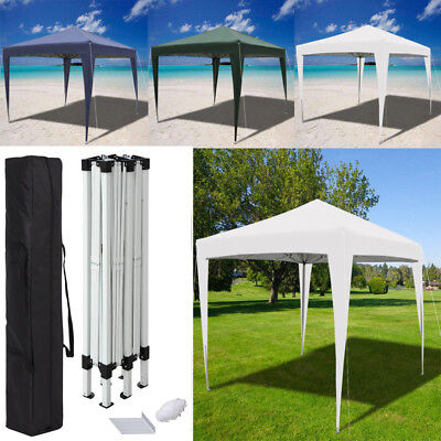 Heavy Duty 3X3m Pop-Up Gazebo Outdoor/Commercial Market Stall Party Reception UK