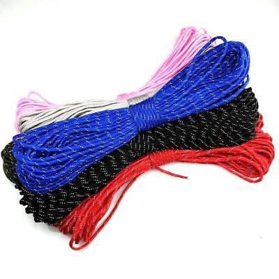 550 Paracord Reflective Parachute Cord Lanyard Mil Spec Type III 7 Strand Core