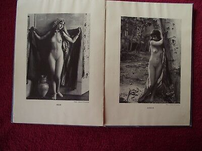 """*Nudes of all Nations + """"The Irish Maid"""" - 48 Studies in each book - 1936 & 1941"""