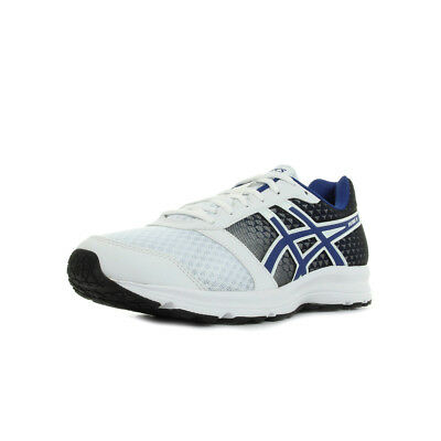 Chaussures Asics homme Patriot 8 Running taille Blanc Blanche Textile Lacets