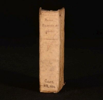 1654 DIVERS EXERCISES de PIETE et de PERFECTION