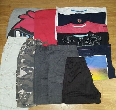 boys summer clothes bundle 7-8yrs Angry Birds M&S NEXT school shorts