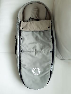 Khaki Green Bugaboo Cocoon with newborn insert headrest