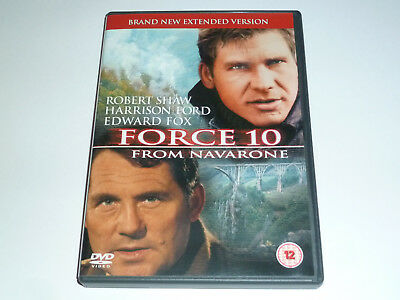 Force Ten From Navarone (1978) - Harrison Ford - GENUINE UK DVD - EXCEL CONDIT