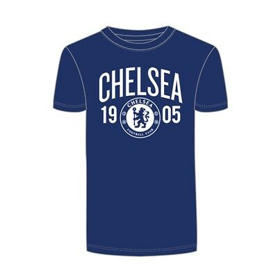 Chelsea Fc Mens Official Established Football Crest T-shirt (small)