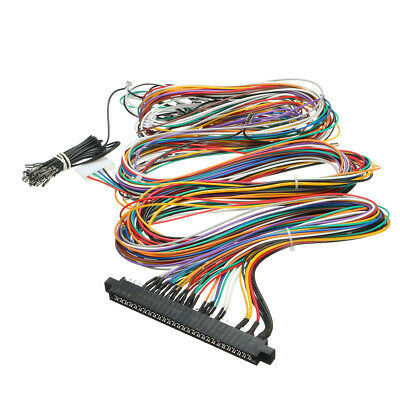 arcade gaming jamma wiring harness multicade 60 in 1 arcade game cabinet wire  labels free us