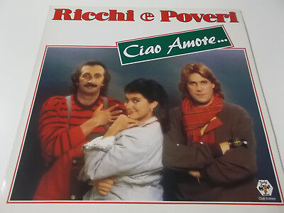 42255 - Ricchi E Poveri - Ciao Amore - 1984 Vinyl Lp Made In Germany