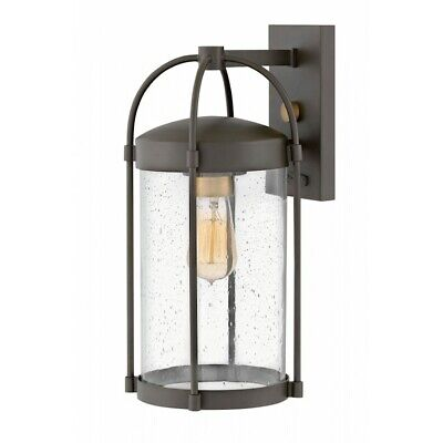 Hinkley Lighting Outdoor Drexler Medium Wall Mount, Bronze - 1174OZ