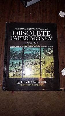 - Whitman ENCYCLOPEDIA OF OBSOLETE PAPER MONEY Vol. 7 Hardcover