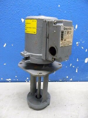Graymills Cast Iron Immersion Coolant Pump 230/460V 1/8HP IMV08-F PARTS/REPAIR