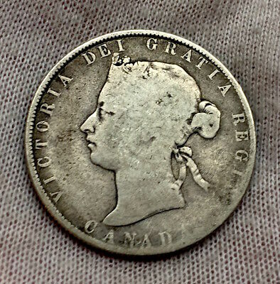 Canada Silver 50 Cents 1870