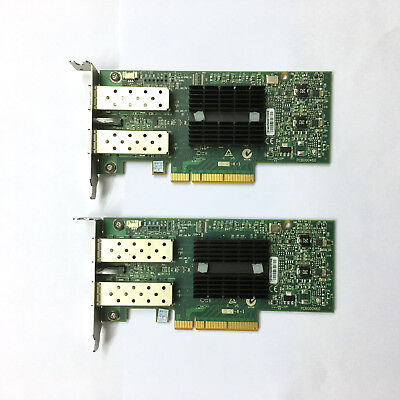 2pc MCX312A-XCBT MELLANOX CONNECTX-3 DUAL PORT EN 10/40/56 GIGABIT ETHERNET CARD