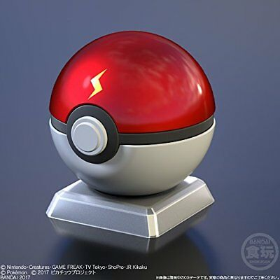 Bandai Shokugan Pokemon Poke Ball Collection Ash's Pikachu Ball Pokeball USA