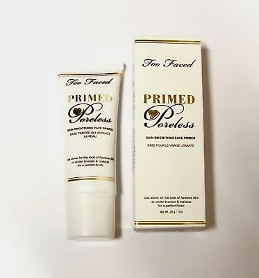 Too Faced Primed and Poreless Skin Smoothening Face Primer 1oz.-WHITE