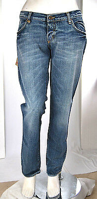Jeans da donna Jeans Donna MET Pantaloni Glittering Made in Italy C416B Tg 28