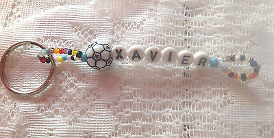 Boys Or Men's Personalized Keychain Or Zipper Pull With The Name Xavier-New