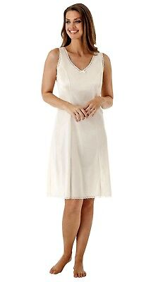 Velrose Nylon Wide Strap Dress Slip (3411)