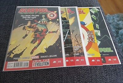 Deadpool 15-19 nm good the bad and the ugly full arc