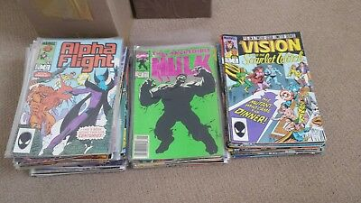 Comic collection 74 issues. Marvel. DC. Indies