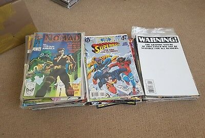 Comic collection 89 issues. Marvel. DC. Indies