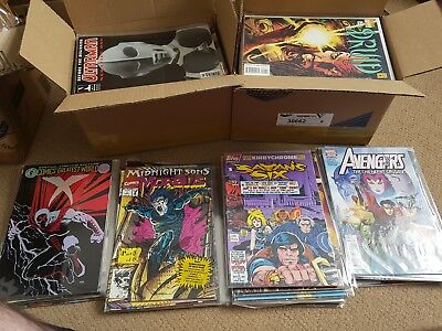 First issue collection. 204 issues. First appearances. Variants. Rare issues