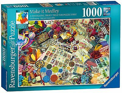 Ravensburger Puzzle*1000 T*greg Shepherd*make It Medley*rarität*ovp